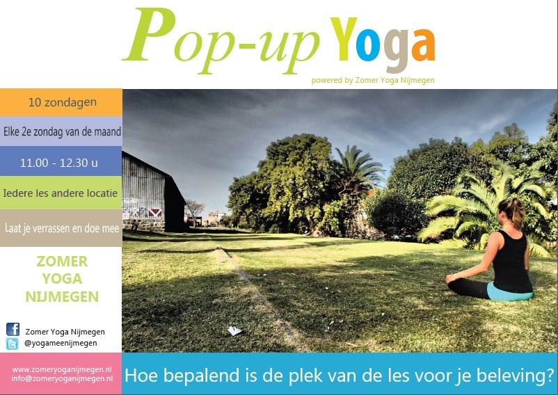 Zomer Yoga Pop-up