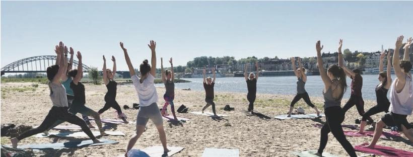 Buiten yoga Nijmegen